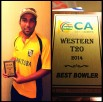 Monty Sharma - Best Bowler in Western Canada